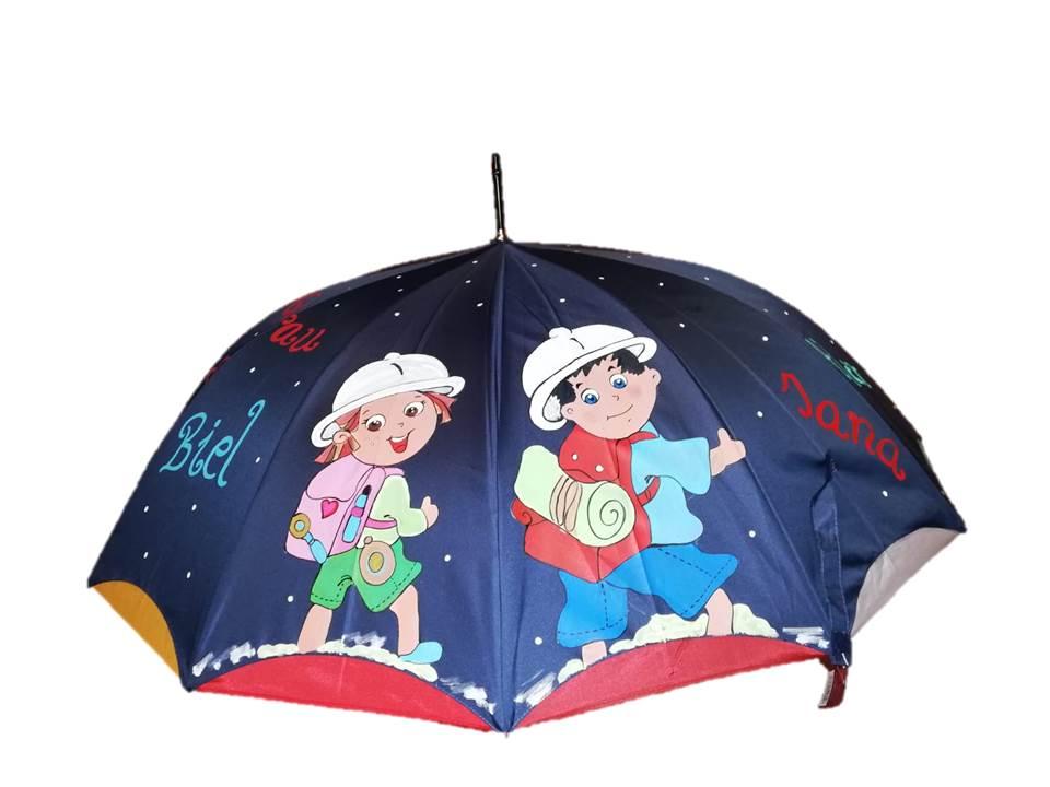 Paraguas para las profesoras