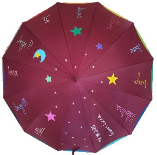 paraguas para profesoras original