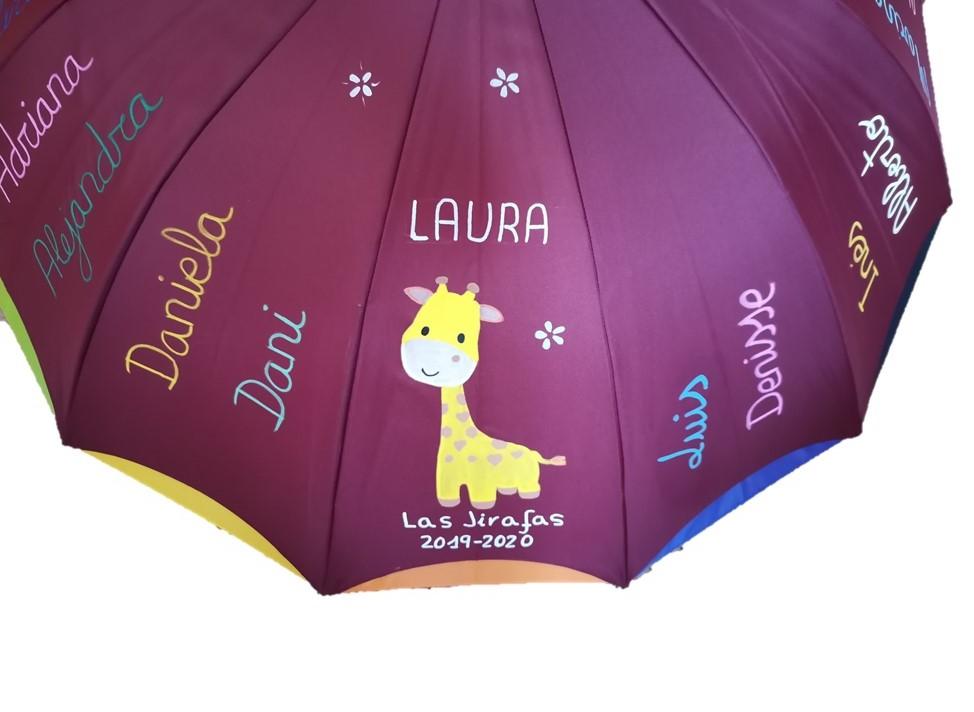 regalo paraguas para profesores