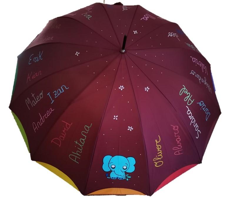 paraguas profesores exclusivo