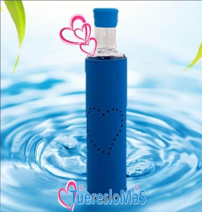 botella agua estructurada