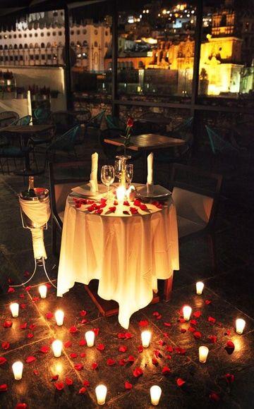 mesa para enamorados