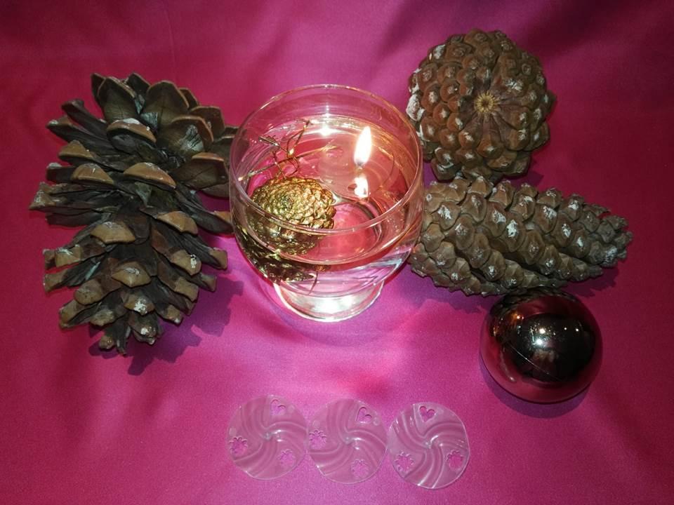 Velas Ecológicas para Navidad pura vela