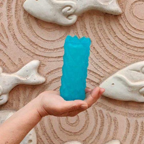 botella de jabon artesanal