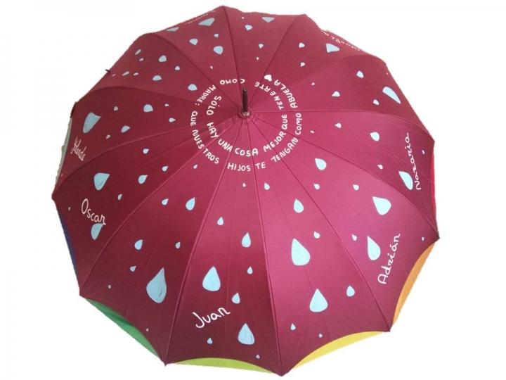 Regalo paraguas personalizado abuelas