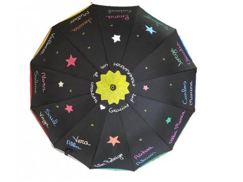 paraguas estrella profesores