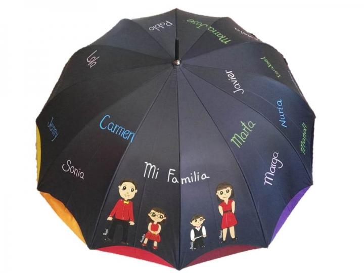 Regalo paraguas personalizado para mamas
