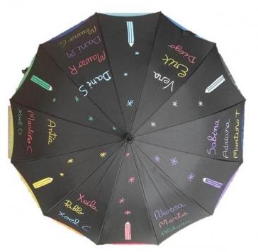 paraguas lapices estrellas