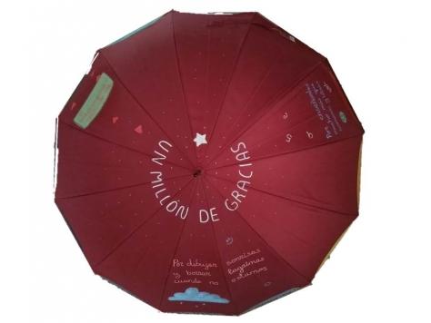 paraguas para las profes de guarderías